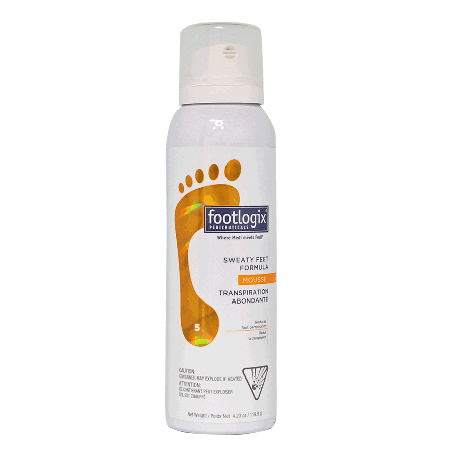 Sweaty Feet Formula with Dermal Infusion Technology by Footlogix